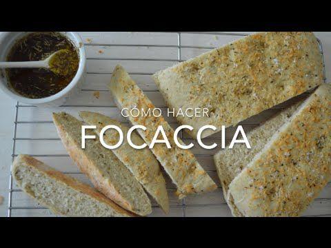 FOCACCIA CON DIP DE PARMESANO - Recetas fáciles Pizca de Sabor www.pizcadesabor.com
