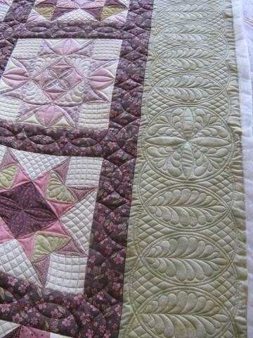 Ideas For Quilting Borders : 17 Best images about Quilting ideas for wide borders on Pinterest Circles, Machine quilting ...