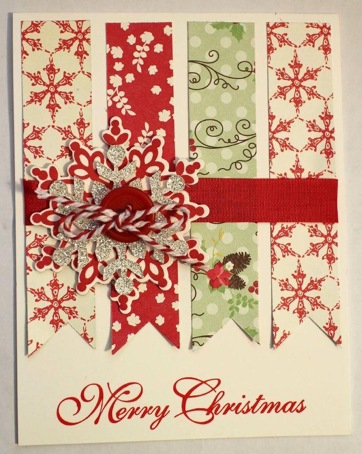 1812 best Handmade Christmas Cards images on Pinterest | Xmas ...
