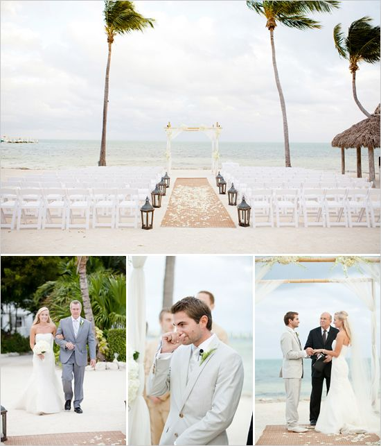 seaside wedding ideasRomantic Wedding, Wedding Ideas, Dreams Wedding, Seaside Wedding, Grooms Reaction, Wedding Locations, Destinations Wedding, Beach Ceremonies, Beach Wedding Setup