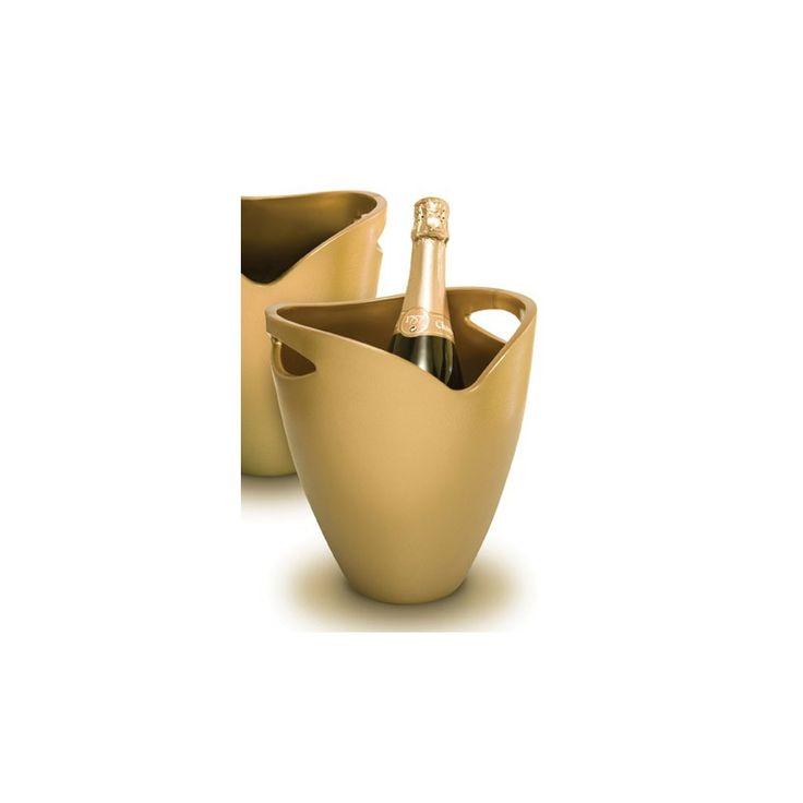 Champañera acrilica ice bucket gold