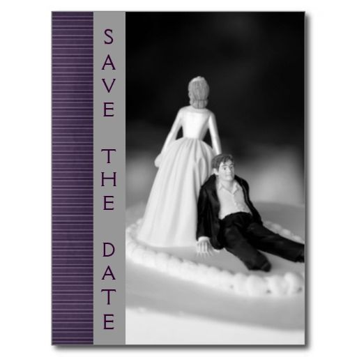 save the date funny postcard ideas | Funny Save The Date Announcements Postcards from Zazzle.com