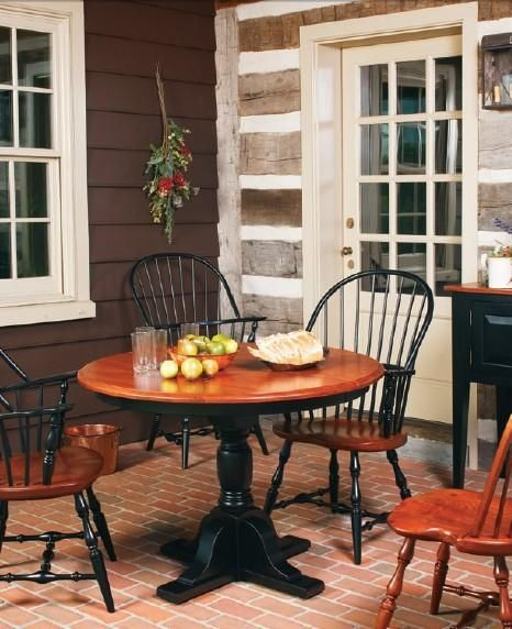 Best Amish Dining Room Sets Kitchen Furniture: 17 Best Images About Colonial Style Amish Furniture On