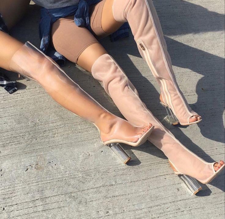 yeezy thigh highs