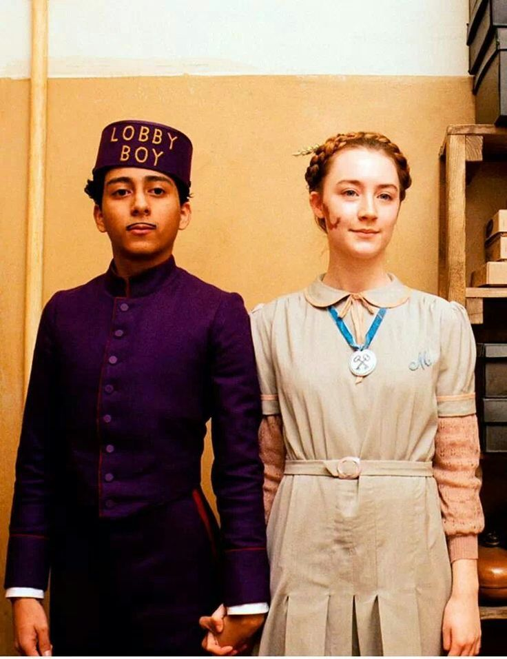 The Grand Budapest Hotel (2014) - Saoirse Ronan as Agatha