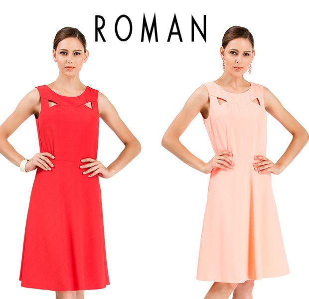 Roman Yazlık Kadın Elbise 2014