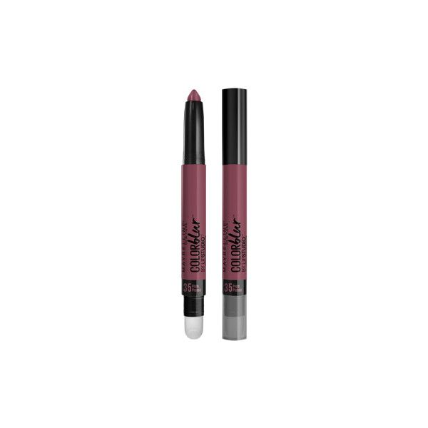 Lip Studio Color Blur Lip Pencil - Matte Lip - Maybelline featuring polyvore, beauty products, makeup, lip makeup, lip pencils, maybelline lip pencil, maybelline lip liner and maybelline