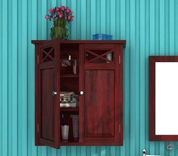 Buy #Bathroom #Cabinets online at best prices from Wooden Street. You will find an impressive collection of elegant #storage #furniture in various designs and sizes available according to your needs. Visit : https://www.woodenstreet.com/storage-furniture