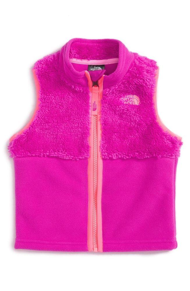 North Face infant girls Chimbo vest size 18-24mo LUMINOUS PINK Size $50 new    eBay