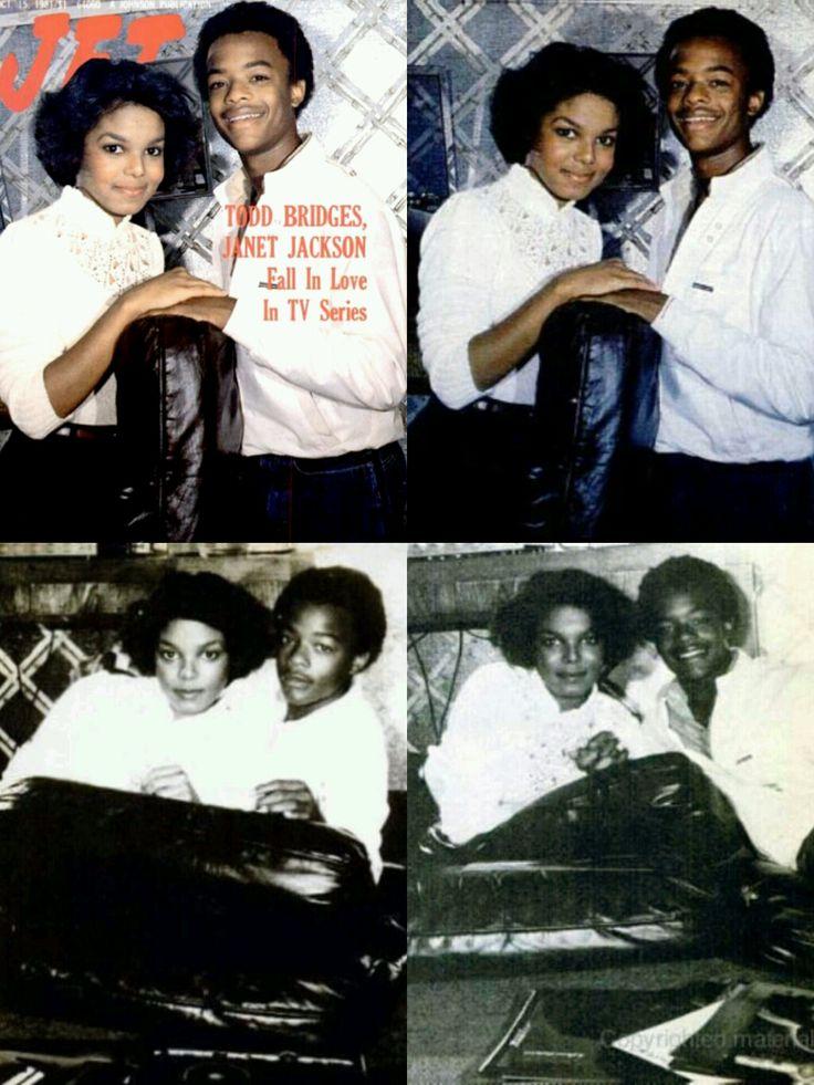 Janet Jackson & Todd Bridges