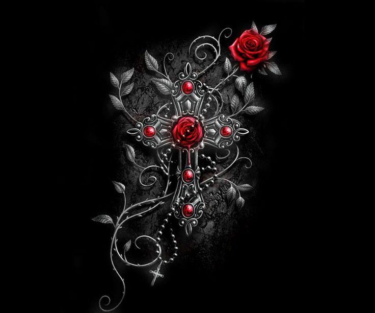57 best images about roses on pinterest lady macbeth gothic and frozen rose - Gothic hintergrundbilder ...
