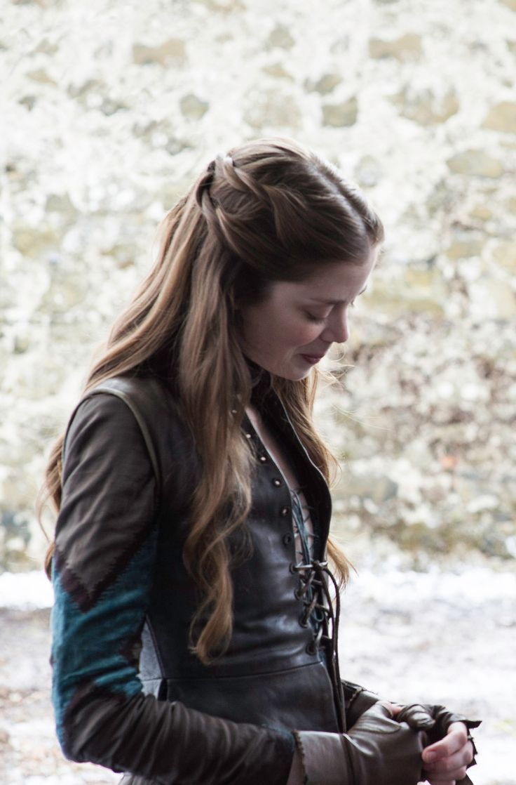 Charlotte Hope as Myranda in Game of Thrones. She is killed by Reek when he defends Sansa