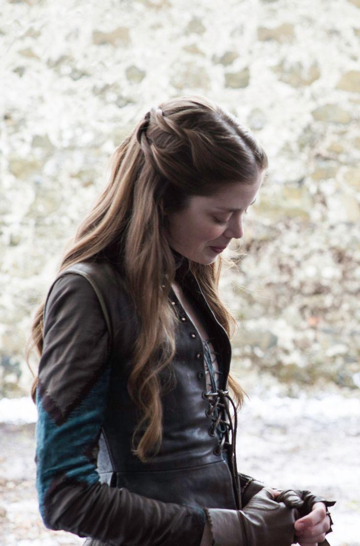 Charlotte Hope as Myranda in Game of Thrones. She is killed by Reek when he defends Sansa