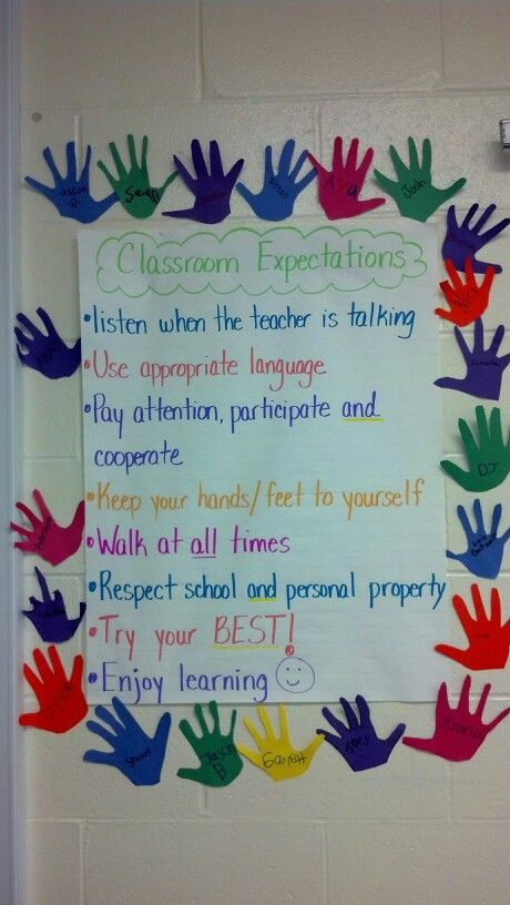 class expectations Setting classroom expectations and developing learning goals collaboratively puts students at the center of the learning process learn more here.