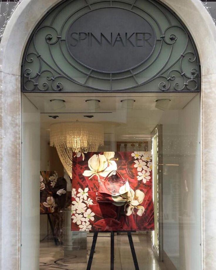 Special window for Mariposa Collection edition @ Spinnaker Boutique Sanremo #zanellato #flowers #sanremo #mariposa