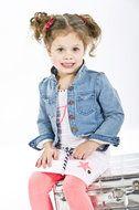 Margo-Wit Leuk wit zomers jurkje uit de zomer collectie 2014 van het merk #Quapi #Kidswear #www.lotenlynn.nl