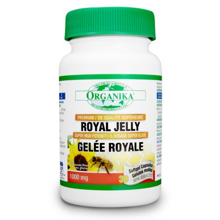 Royal Jelly, 1000mg - Combined with products like ginseng and maca, promote overall health, strength and vitality. Supports healthy cholesterol balance to promote good heart health.
