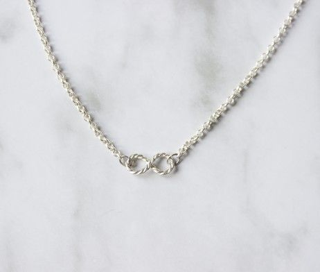 Infinity Necklace by Hache Varela