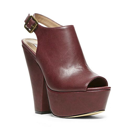 Gabby by Steve Madden. I love the cognac color!