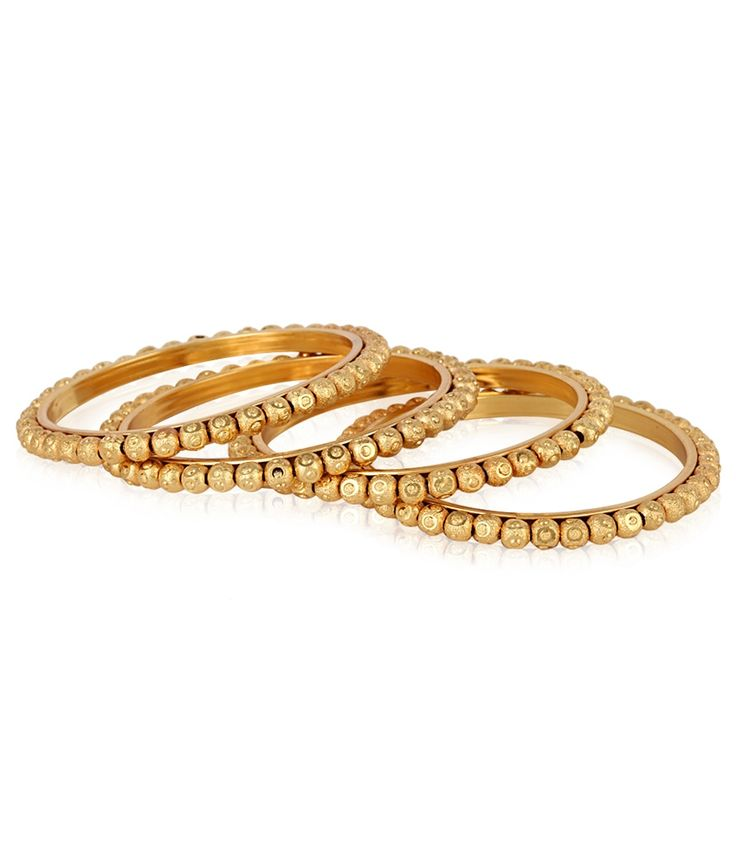 Jewels Galaxy Royal Style Ball Design Gold Plated Bangles, http://www.snapdeal.com/product/jewels-galaxy-royal-style-ball/1689007781