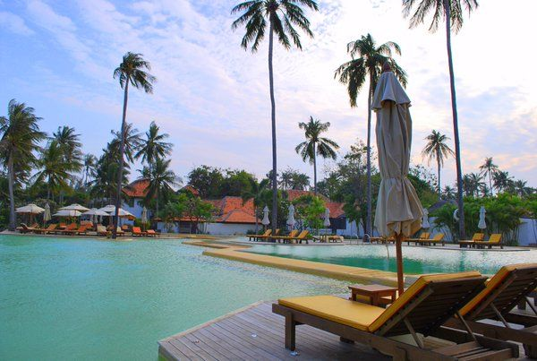 Relaxing pool at Evason Hua Hin