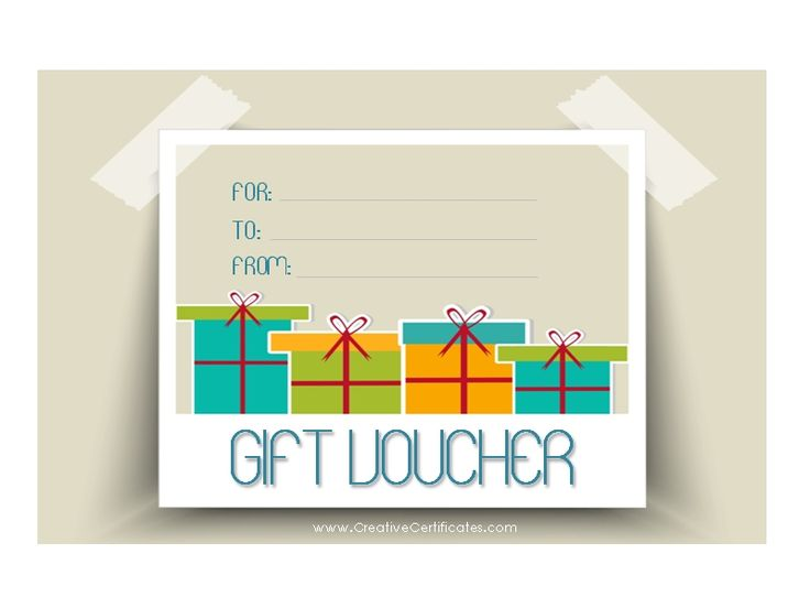 Pin by Shaluja Selvarajah on Voucher | Gift certificate ...