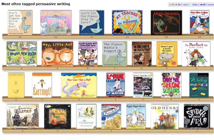 Picture books to use with Opinion Writing