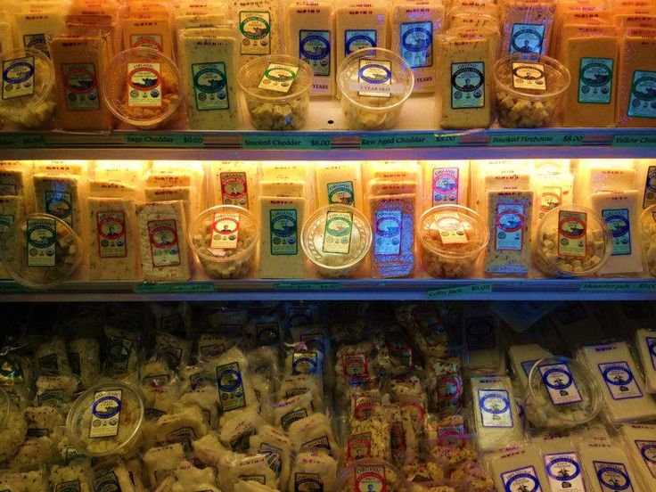 Spring Hill Jersey Cheese at Petaluma Creamery. Showing off their lovely collection of cheeses and butters!
