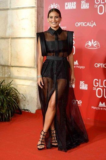 Liliana Santos, Globos de Ouro 2017  Portugal