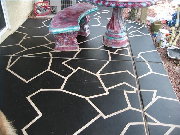 1000 ideas about painting concrete on pinterest for Painting indoor concrete floors