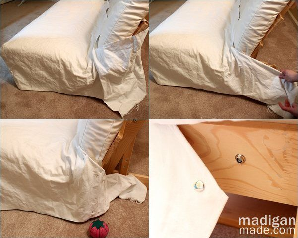 Tips For Sewing A Futon Slipcover Madigan Made Simple Diy Ideas