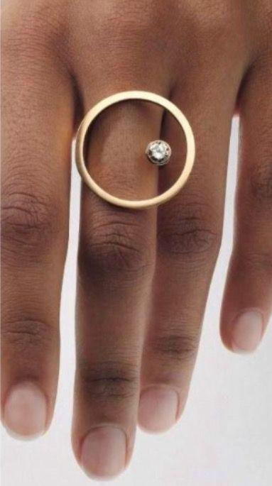 Angela Hübel Ring #angela #goldjewelryideas #hub…