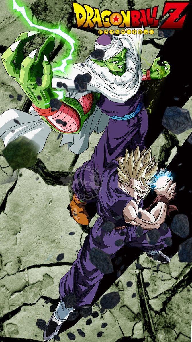 Piccolo And Gohan By Adeba3388 Anime Dragon Ball Super Dragon Ball Artwork Dragon Ball Art
