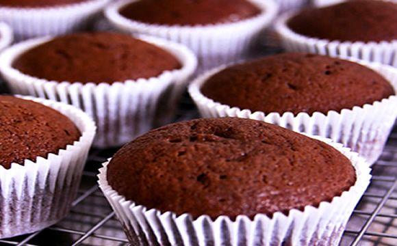 Receita de bolinho de chocolate de micro-ondas para a fase cruzeiro dukan.
