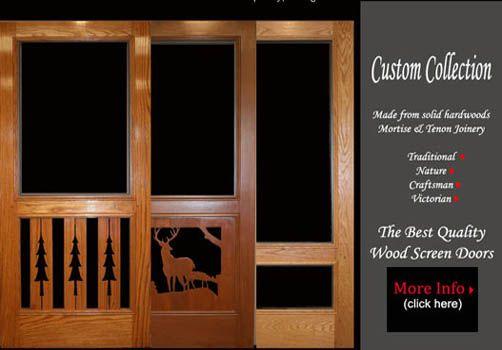 how to put screen in storm door