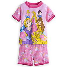 Disney Princess PJ PALS Short Set for Girls