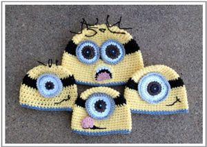 329 best crochet hats minions images on pinterest crochet hats assemble the minions 10 free minions crochet patterns dt1010fo