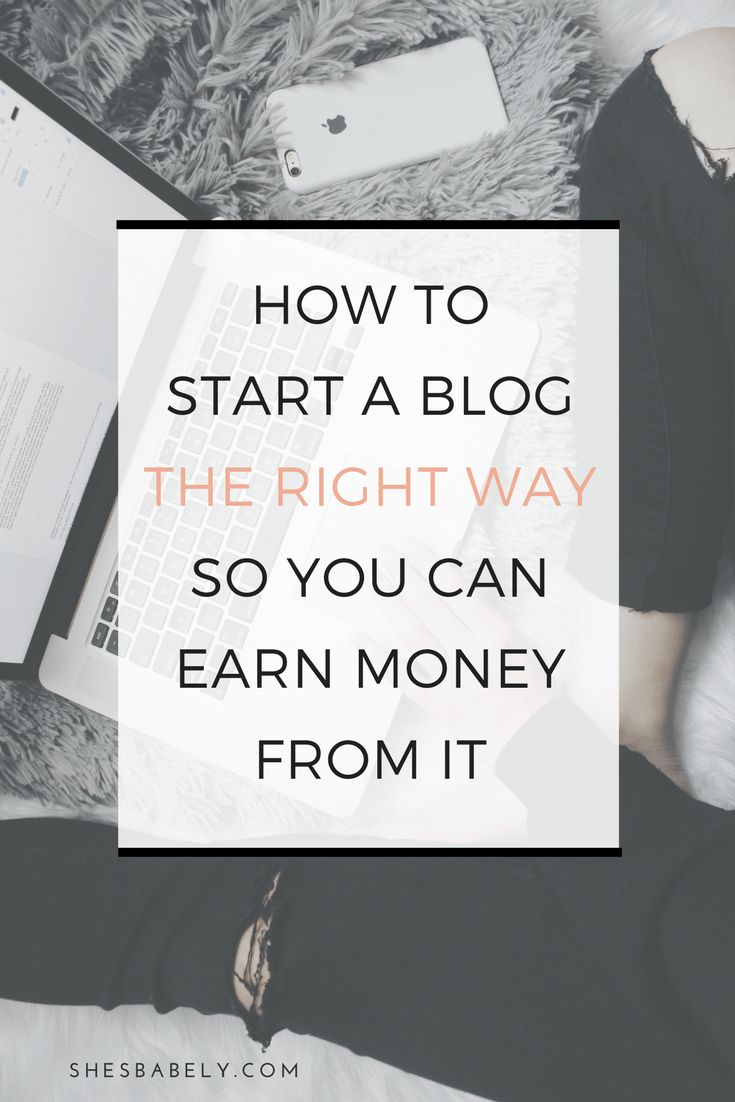 Earn Money From Home How to start a blog the right way so you can earn money from it | monetize | blogging | tips | make money blogging | | www.shesbabely.com You may have signed up to take paid surveys in the past and didn't make any money because you didn't know the correct way to get started!