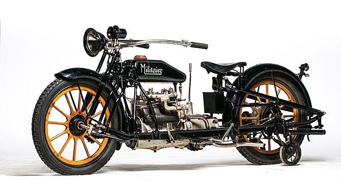 Klasik 1915 militaire motosiklet - Google'da Ara