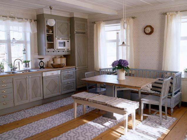 кухни в загородном доме фото - Поиск в Google