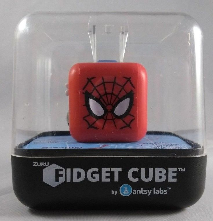 Marvel Spiderman Fidget Cube kids toys #Marvel