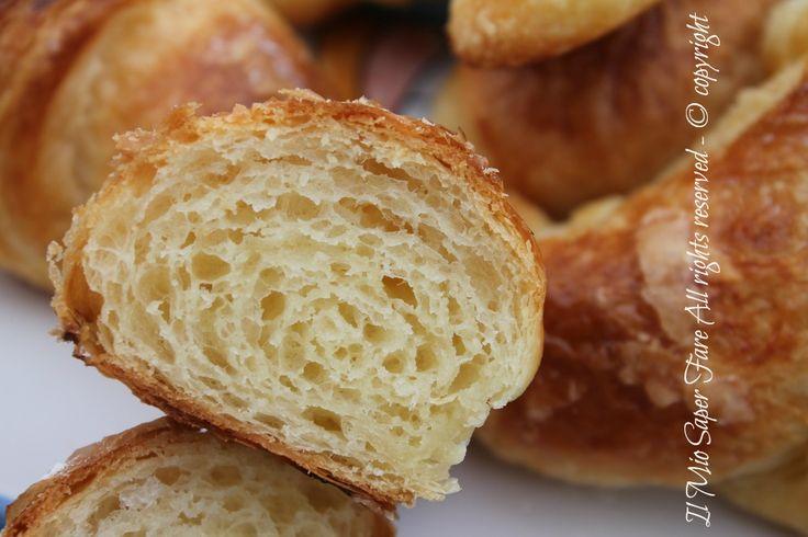 Cornetti sfogliati del bar | Come fare i croissant #cornetti #croissant