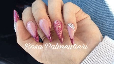 Almond shape - acrylic system - under glass effect. By Rosa Palmentieri (FB: Rosa Palmentieri Instagram: @rosapalm Twitter: @rosapalment YouTube: Rosa PALM) #extremenails #lovenails #nails #rosapalmentieri #longnails #acrynails #unghie #nailsart #nailspassion #fashionails #style #nailsoftheday #beautiful #acrylicnails #stylish #styles #nailart #art #photoftheday #nailaddicted #naildesign #bestnails #unghie #stiletto #modernstiletto #frenchnails #dragqueen #passioneunghie
