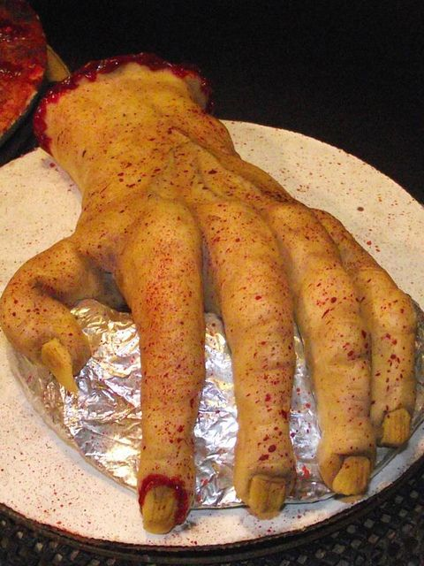 no tutorial just really gruesomely cool - Gruesome Halloween Food