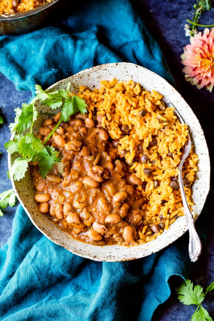 Video: Mom's Authentic Puerto Rican Rice and Beans