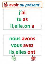 Image result for le verbes avoir au present et des exercices a ecrire