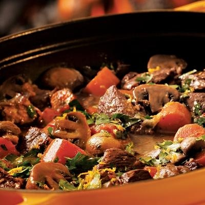 Slow-Cooked Provençal Beef Stew   Slow Cooker recipes   Pinterest