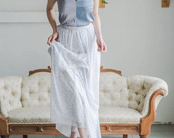 Floral Print Long Skirt with Pockets for Bridesmaids (scheduled via http://www.tailwindapp.com?utm_source=pinterest&utm_medium=twpin&utm_content=post159220377&utm_campaign=scheduler_attribution)
