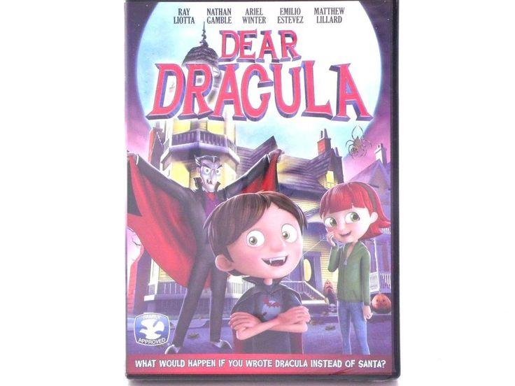 Brand New Dear Dracula DVD Animation Family Ray Liotta Nathan Gamble Ariel Winte