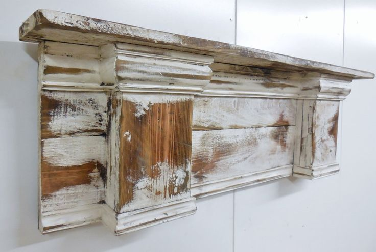 French Country Mantle Shelf, Primitive Mantle Shelf,Fireplace Mantle,Shabby Style Mantel Shelf, French Country Wall Shelf, Shabby Headboard by LynxCreekDesigns on Etsy https://www.etsy.com/listing/170451074/french-country-mantle-shelf-primitive
